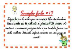 Vivi con Letizia: Consiglio furbo #19 - Ricoprire i libri di scuola ...