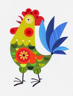 Rooster by Ellen Giggenbach