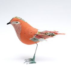The early bird catches this one-of-a-kind piece before it's gone! Bird by abigailbrown on Etsy, £90.00