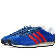 Adidas Country OG (Bold Blue   Vivid Red) Adidas Country c2353667e47