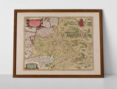 Old Map of Russia, North West Moscow, originally created by Willem Janszoon Blaeu, now available as a 'museum quality' historic style print. Nizhny Novgorod, Antique Maps, Samara, Perm, Travel Posters, North West, Moscow, Vintage World Maps, Russia
