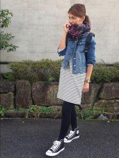 GAPのマフラー・ショールを使ったyukoのコーディネートです。WEARはモデル・俳優・ショップスタッフなどの着こなしをチェックできるファッションコーディネートサイトです。