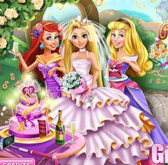#rapunzel será la #novia mas guapa del reino gracias a ti. #juegosdevestir #juegosderapunzel http://www.juegos-vestir.net/jugar/la-boda-de-rapunzel
