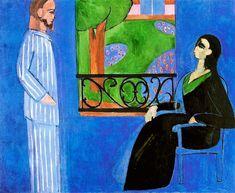 Henri Matisse - Conversation, 1912 at The Hermitage Museum Exhibit at the National Museum of Prado Madrid Spain