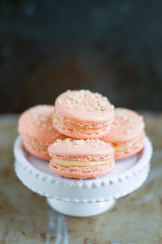 Peach Cobbler Macarons                                                                                                                                                     More