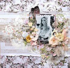 Lovely layout by Guest Designer Elena Martynova