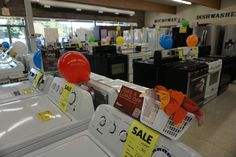 Brand Name Appliances on Clearance! If your looking for a real sale, then come in today and we will beat the box stores with price, service and selection.