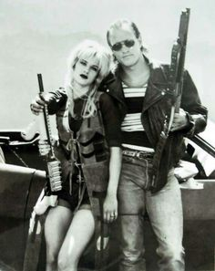Natural Born Killers - Mickey and Mallory Knox. Favorite couple ever. True love at its best.