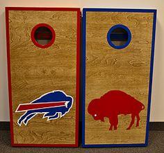 Buffalo Bills Cornhole Boards
