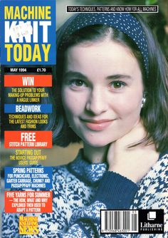 Machine Knit Today Magazine 1994.05 300dpi ClearScan OCR Free PDF Download