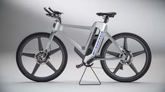 In many cities, driving your vehicle from home to work is not feasible. Ford is looking for solutions and revealed a new electric bike and a prototype Apple Watch app that makes using the eBike even e Mode Pro, New Electric Bike, Ford News, Bicycle Design, Car Wheels, Clothes Horse, Vehicles, Apple Watch, City Living