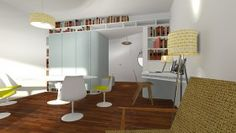 Changer : repenser la séparation entre un séjour et une chambre ...