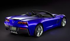 Jake's Car World: Is This The 2014 Corvette Stingray Convertible?