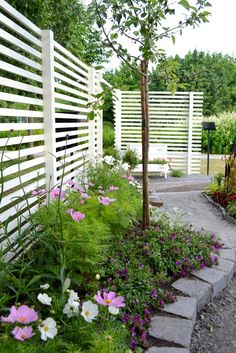 Modern Trellis Design for Beautiful Garden 5 Ways to Add Style With a Garden Trellis Modern Trellis design for beautiful garden. A garden trellis is normally used only for providing a framework on … Backyard Privacy, Backyard Fences, Pergola Patio, Backyard Landscaping, Landscaping Ideas, Trellis Design, Fence Design, Garden Trellis, Garden Fencing