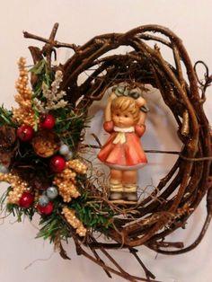 Berta Hummel  Grapevine Christmas Ornament by colonialcrafts, $25.00 #vvert1 #homespunsociety #epsteam #ofg #madcap #cet #teamcac #vintageMI team