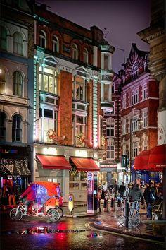 Soho, London,