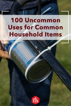 Brace yourself for 100 aha! moments. These unique uses for everyday items are downright genius. Everyday Hacks, Everyday Items, Diy Cleaning Products, Cleaning Hacks, Cool Illusions, House Repair, Gadget Gifts, Landscaping Tips, Flower Farm