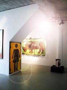 Pierre-Alex. @galeriew #artcontemporain #gallery #paris