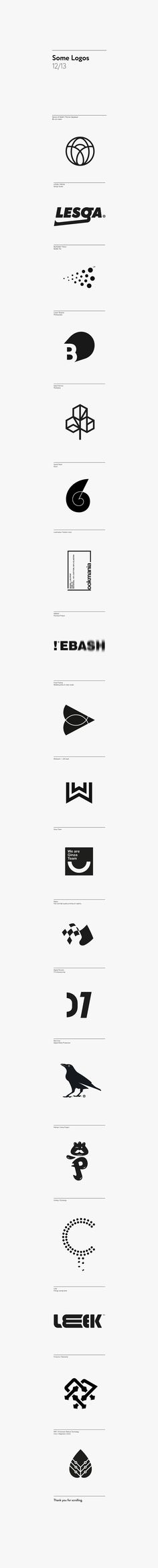 Logos 12/13. Логотип © Dima Bertoluchi