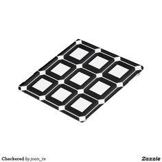 Checkered Glass Coaster
