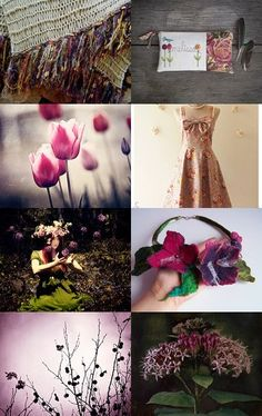 Passionate. Mood board collage by Angela Taylor on Etsy--Pinned with TreasuryPin.com