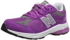 New Balance KJ990 Grade Running Shoe (Big Kid),Purple