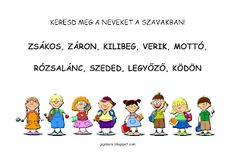 JujoBoro: Játékos feladatok magyar órára Letters, Teaching, Letter, Education, Lettering, Onderwijs, Calligraphy, Learning, Tutorials