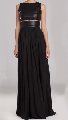 Black evening dress 6140 http://www.justrach.com/2013/10/giveaway-30-at-ahai-shopping.html