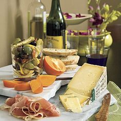 10-Minute Appetizers   Instant Italian Cheese Tray   SouthernLiving.com