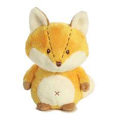 Baby Safe Plush Fox Rattle Wildwood Babies by Aurora