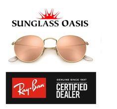 678e6a200970a Frame Color Matte Gold Lens Color Pink Mirrored Model  RB Made in Italy  Authentic Brand New Ray Ban SunglassGuaranteed Box