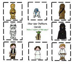 Preschool Printables: Star Wars