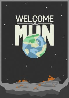 Kerbal Space Program Welcome to the Mun by shuckledesigns on Etsy