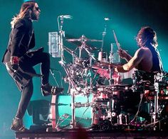 30 Seconds to Mars the brothers Leto ❤️
