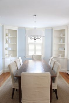 66 new Ideas farmhouse dining room hutch built ins Farmhouse Dining Room Built Dining Farmhouse Hutch Ideas ins Room Corner Cabinet Dining Room, White Corner Cabinet, Corner China Cabinets, Dining Room Walls, Dining Room Design, Corner Hutch, Dining Chairs, Corner Shelf, White Wood Table