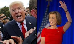 Carly Fiorina hits back at Trump again after he mocked appearance #DailyMail.......................................................................................................notice how trump doesn't say that bout any of the male candidates