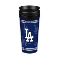 Los Angeles Dodgers 14oz. Full Wrap Travel Mug, Multicolor