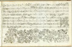 Manuscript Art: Johann Sebastian Bach's Kunst Der Fuge. First Edition, Contrapunctus 1, Pg.12     Here you can see more original manuscripts from different musical periods:   http://manuscriptart.tumblr.com/ —