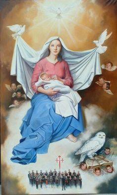 Virgen de la Coral. Jesus Sandonis Martin