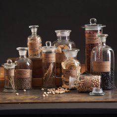botany apothecary jars