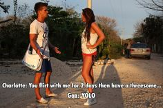 Geordie Shore haha love it Geordie Shore Quotes, Geordie Shore Charlotte, Charlotte And Gary, Pittsburgh Football, College Football Games, Football Hall Of Fame, Most Played, Flirting Tips For Girls, Humor