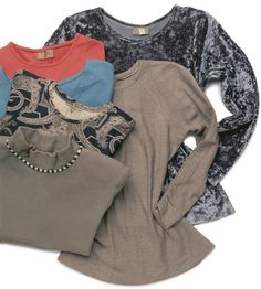 Threads - Not Your Ordinary T-Shirt: Customize a regular pattern for an elegant knit basic you'll sew again and again.