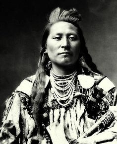":::::::::: Antique Photograph :::::::::: Plenty Coups grew up as a traditional Northern Plains nomadic Crow Indian c. Read his Biography. I believe he counted his first ""Coup"" on a buffalo bull when he was eight years old. Native American Pictures, Native American Beauty, Native American Tribes, Native American History, Indian Pictures, American Symbols, American Spirit, American Women, Crow Indians"