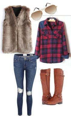 5 Ways To Wear Your Faux Fur Vest