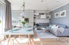 Mieszkanie Targówek - Salon, styl nowoczesny - zdjęcie od Pracownia Architektoniczna Małgorzaty Górskiej-Niwińskiej