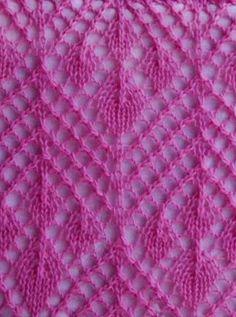 Lace Stitch Pattern http://knitchart.com/item/lace-stitch-pattern-114.html