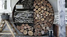 11 Firewood Storage Ideas You Can Recreate This Winter Season