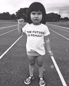 Lesbian Feminism Asserts that The Future is Female, Not Fluid. Cool Kids, Who Runs The World, Moleskine, Powerful Women, Ladies Day, Women Empowerment, Girl Power, Lady Power, Female Power