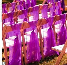 Indoor and Outdoor Wedding Ceremony Decorations Wedding Ceremony Chair Decor Wedding Chairs Decoration Ideas - Belle the Magazine . Wedding Ceremony Ideas, Wedding Events, Wedding Reception, Our Wedding, Trendy Wedding, Wedding Church, Wedding Stuff, Wedding Aisles, Wedding News