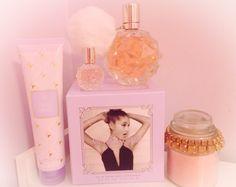 ♡ Princess of Paris ♡ Ari Perfume, Ariana Merch, Ariana Grande Perfume, Girly Hairstyles, Grande Cosmetics, Ariana Grande Dangerous Woman, Sweet Like Candy, Shes Perfect, Viva Glam